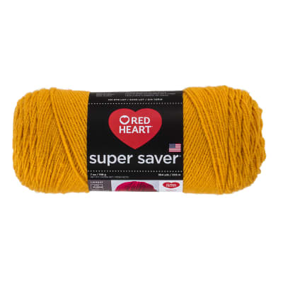 Red Heart Super Saver Yarn 321 Gold