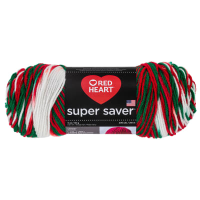 Red Heart Super Saver Yarn 979 Mistletoe