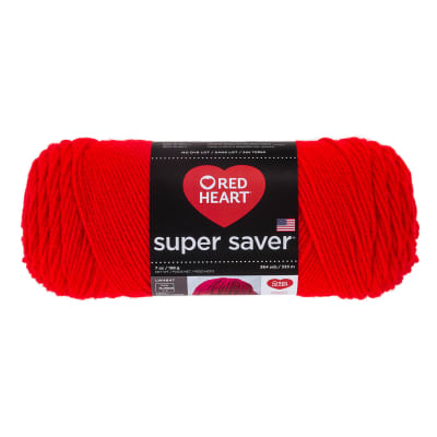 Red Heart Super Saver Yarn 979 Hot Red