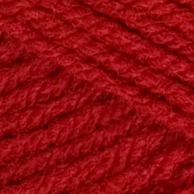 Red Heart Yarn Super Saver Jumbo 319 Cherry Red