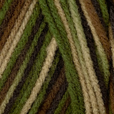 Red Heart Yarn Super Saver Jumbo 971 Camouflage