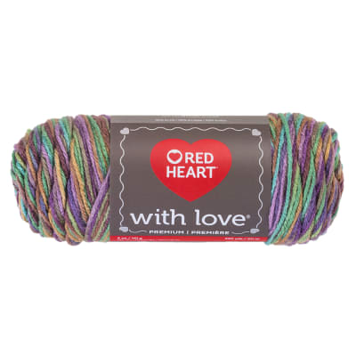 Red Heart Yarn With Love 1816 Waterlily