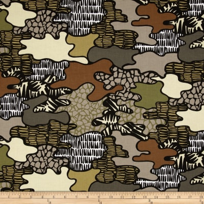 Jungle Jive Jungle Camo Khaki