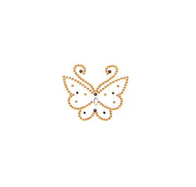 Butterfly Applique Gold
