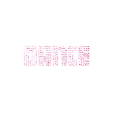 Dance Rhinestud Applique Pink