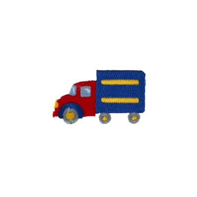 Truck Applique Red