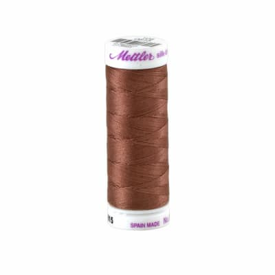 Mettler Cotton All Purpose Thread 3-ply 50wt 164YDS Espresso