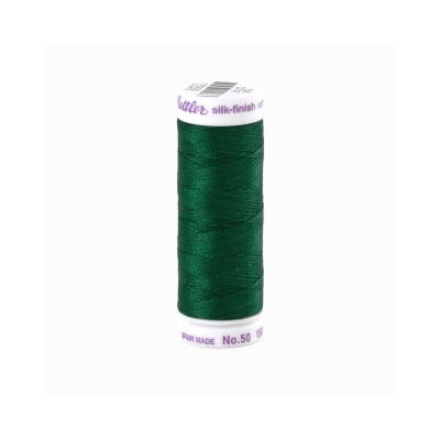 Mettler Cotton All Purpose Thread 3-ply 50wt 164YDS Strong Green