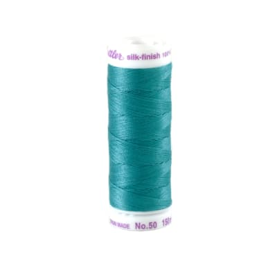 Mettler Cotton All Purpose Thread 3-ply 50wt 164YDS Glacier Blue