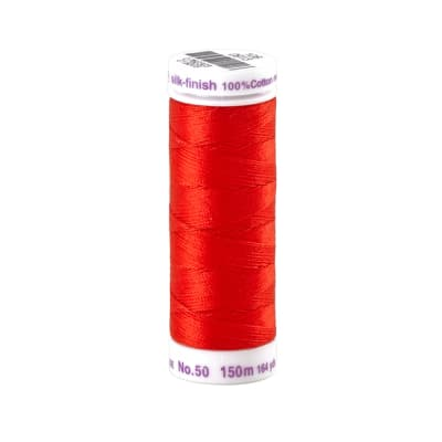 Mettler Cotton All Purpose Thread Vermillion