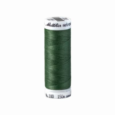 Mettler Polyester All Purpose Thread 50wt 164YDS Green Dust