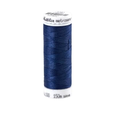 Mettler Metrosene Polyester All Purpose Thread Fire Blue