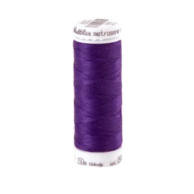 Mettler Metrosene Polyester All Purpose Thread Deep Purple