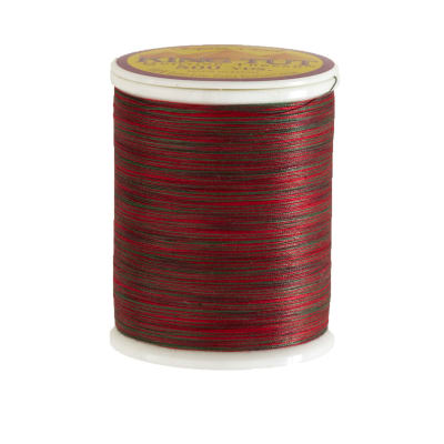Superior King Tut Cotton Quilting Thread 3-ply 40wt 500yds Holly and Ivy