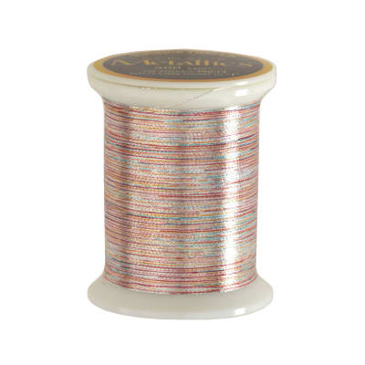 Superior Metallic Thread 500yds Variegated Silver