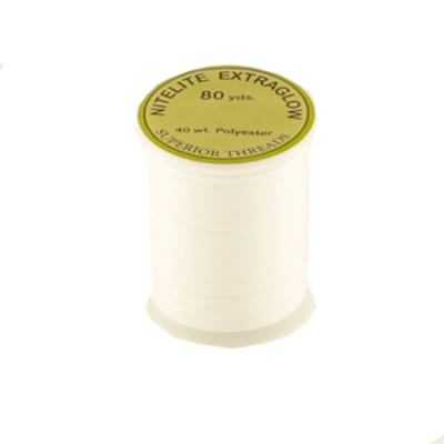 Superior NiteLite ExtraGlow Polyester Glow In The Dark Thread 40wt 80YDS