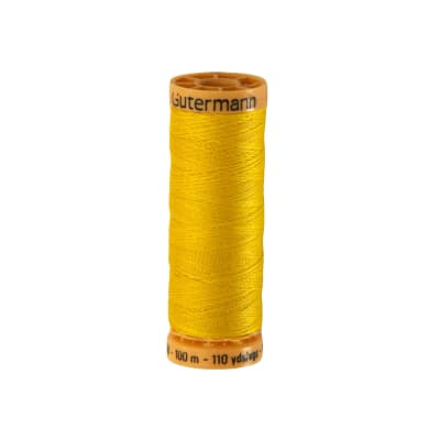 Gutermann Natural Cotton Thread 100m/109yds Lemon