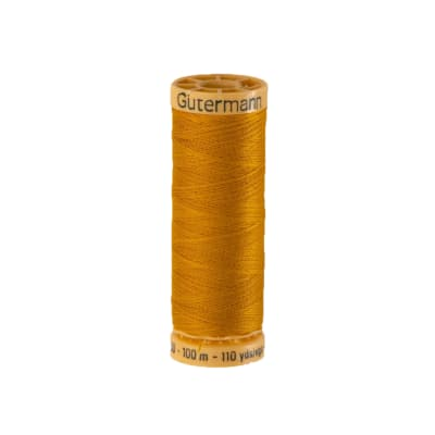 Gutermann Natural Cotton Thread 100m/109yds Pumpkin