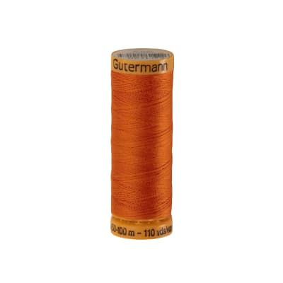 Gutermann Natural Cotton Thread 100m/109yds Orange