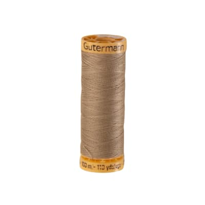 Gutermann Natural Cotton Thread 100m/109yds Khaki