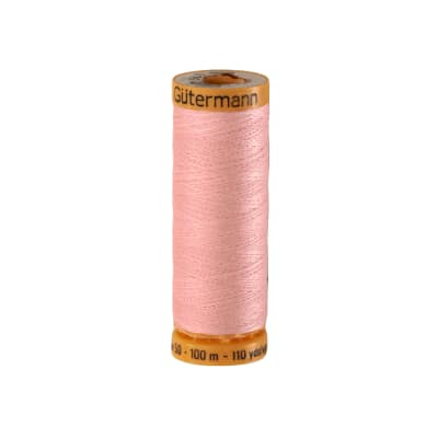 Gutermann Natural Cotton Thread 100m/109yds Very Pale Pink