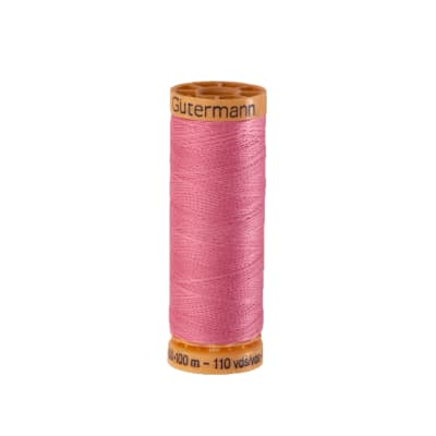 Gutermann Natural Cotton Thread 100m/109yds Dark Pink