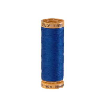 Gutermann Natural Cotton Thread 100m/109yds Yale Blue