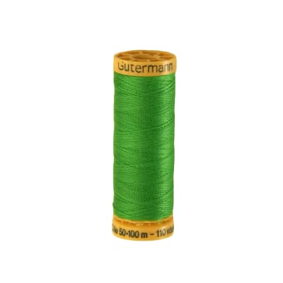 Gutermann Natural Cotton Thread 100m/109yds Apple Green
