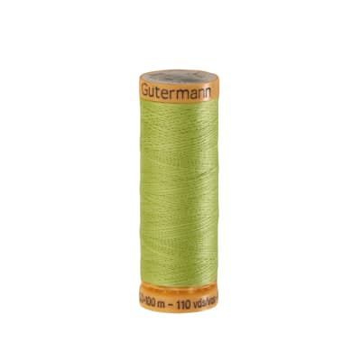 Gutermann Natural Cotton Thread 100m/109yds Lime