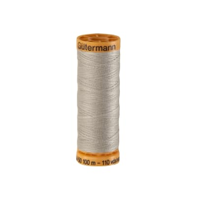 Gutermann Natural Cotton Thread 100m/109yds Nickel