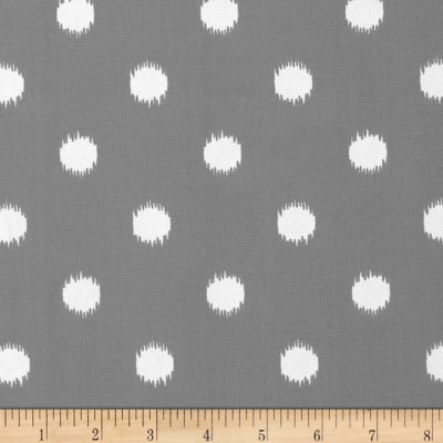 Premier Prints Indoor/Outdoor Ikat Dots Grey