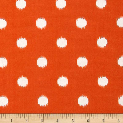 Premier Prints Indoor/Outdoor Ikat Dots Citrus