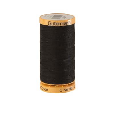 Gutermann Natural Cotton Thread 250m/273yds Black