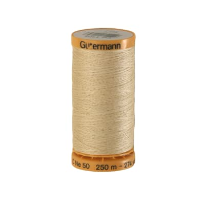 Gutermann Natural Cotton Thread 250m/273yds Cream