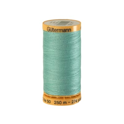 Gutermann Natural Cotton Thread 250m/273yds Light Green