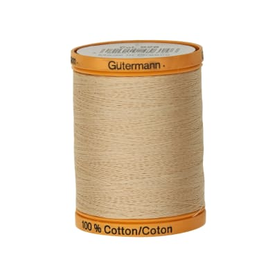 Gutermann Natural Cotton Thread 800m/875yds Oak Tan