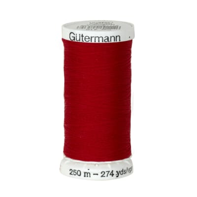 Gutermann Sew-all Polyester All Purpose Thread 250m/273yds Scarlet