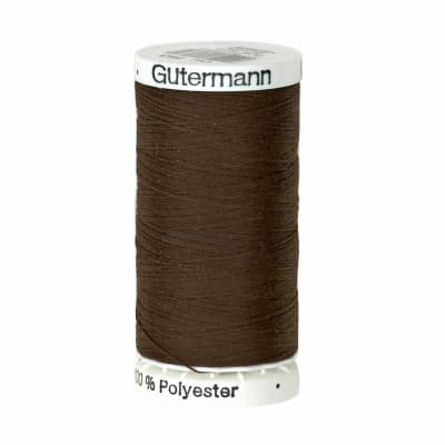 Gutermann Sew-all Polyester All Purpose Thread 250m/273yds Seal Brown