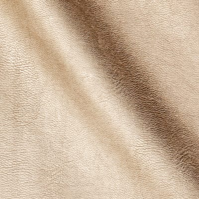 Telio Perfection Fused Faux Leather Metallic Champagne