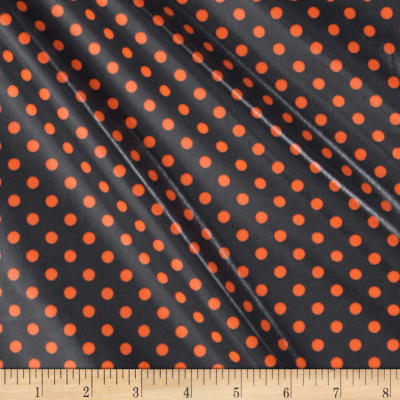 Michael Miller Laminates Neon Dot Ozone Grey Orange