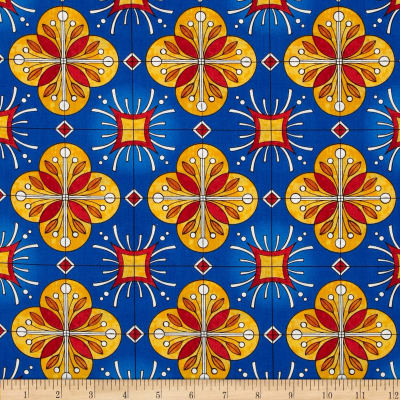 Esperanza Large Spanish Tile Fiesta Blue
