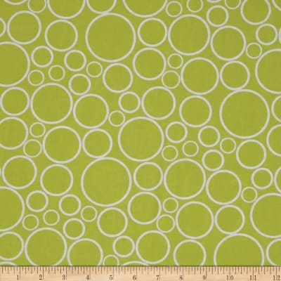 "108"" Wide Geo Circles Wide Chartreuse"