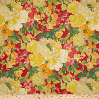Waverly Blossom Boutique Twill Poppy