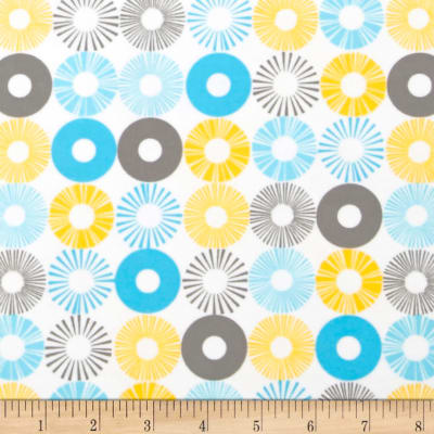 Cozy Cotton Flannel Circles Multi