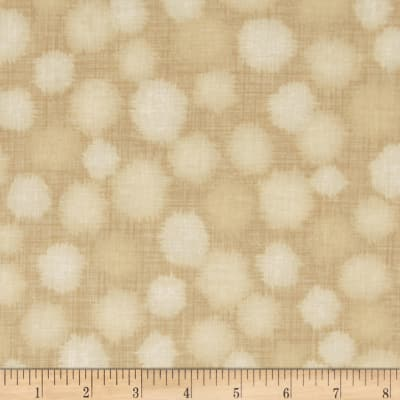 Quilter's Linen Print Dots Straw