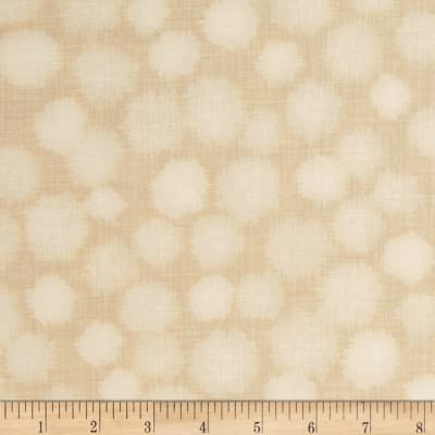 Quilter's Linen Print Dots Ivory
