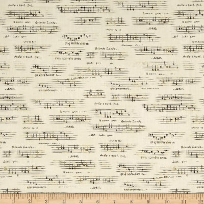 All That Jazz Metallic Sheet Music Grey