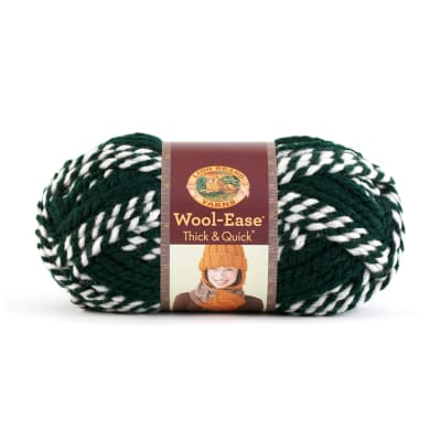 Lion Brand Wool-Ease Thick & Quick Yarn Spartans