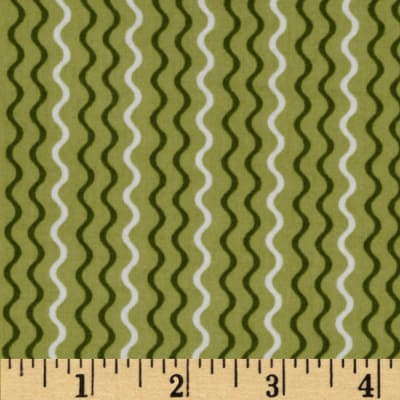 Dilly Day Stripes Green