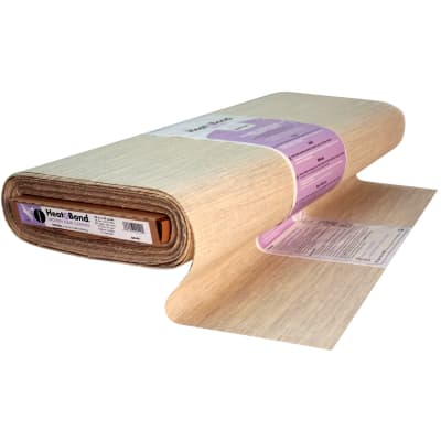 Heat'n Bond Q2440 Woven Fusible - Hair Canvas - Natural -      23'' x 25 yards per bolt